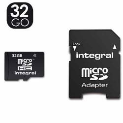 Carte mémoire, micro sd de 32 go