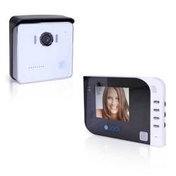 "Interphone video miroir 4"""