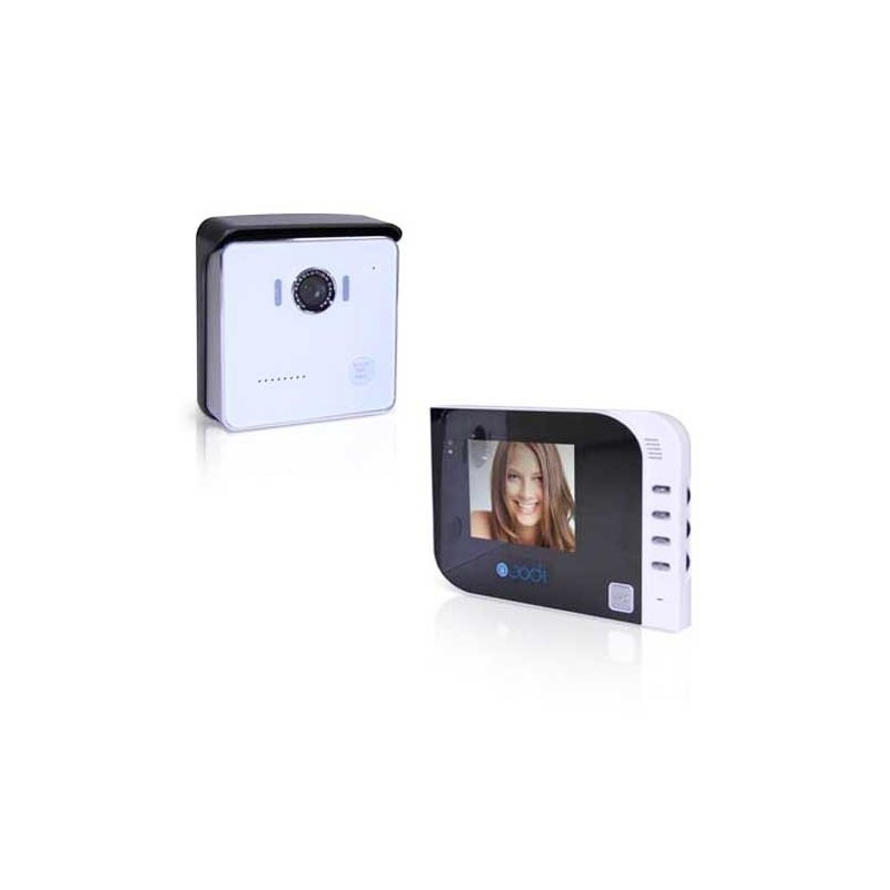 Interphone video miroir 4""