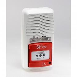 Alarme type 4 〠pile radio avec rã‰pã‰teur