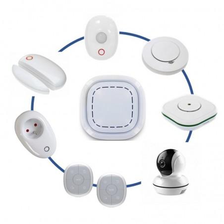 Kit alarme maison sans fil connectã© 3 en 1 -  alarme, sã©curitã© vidã©o et domestique lifebox smart