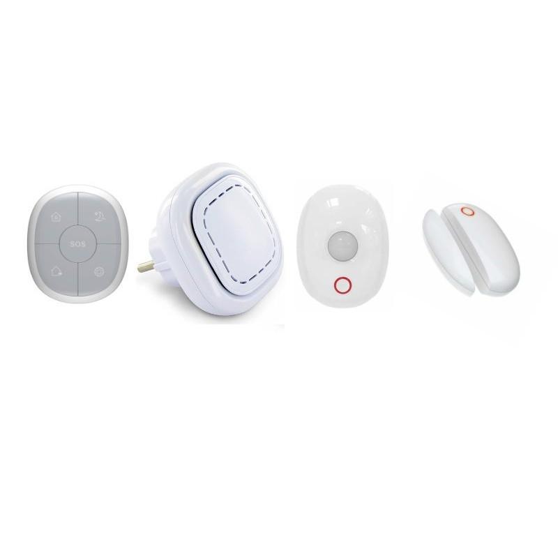 Maison sans fil connectã© 3 en 1 -  dã©tection prã©sence et ouverture - lifebox smart