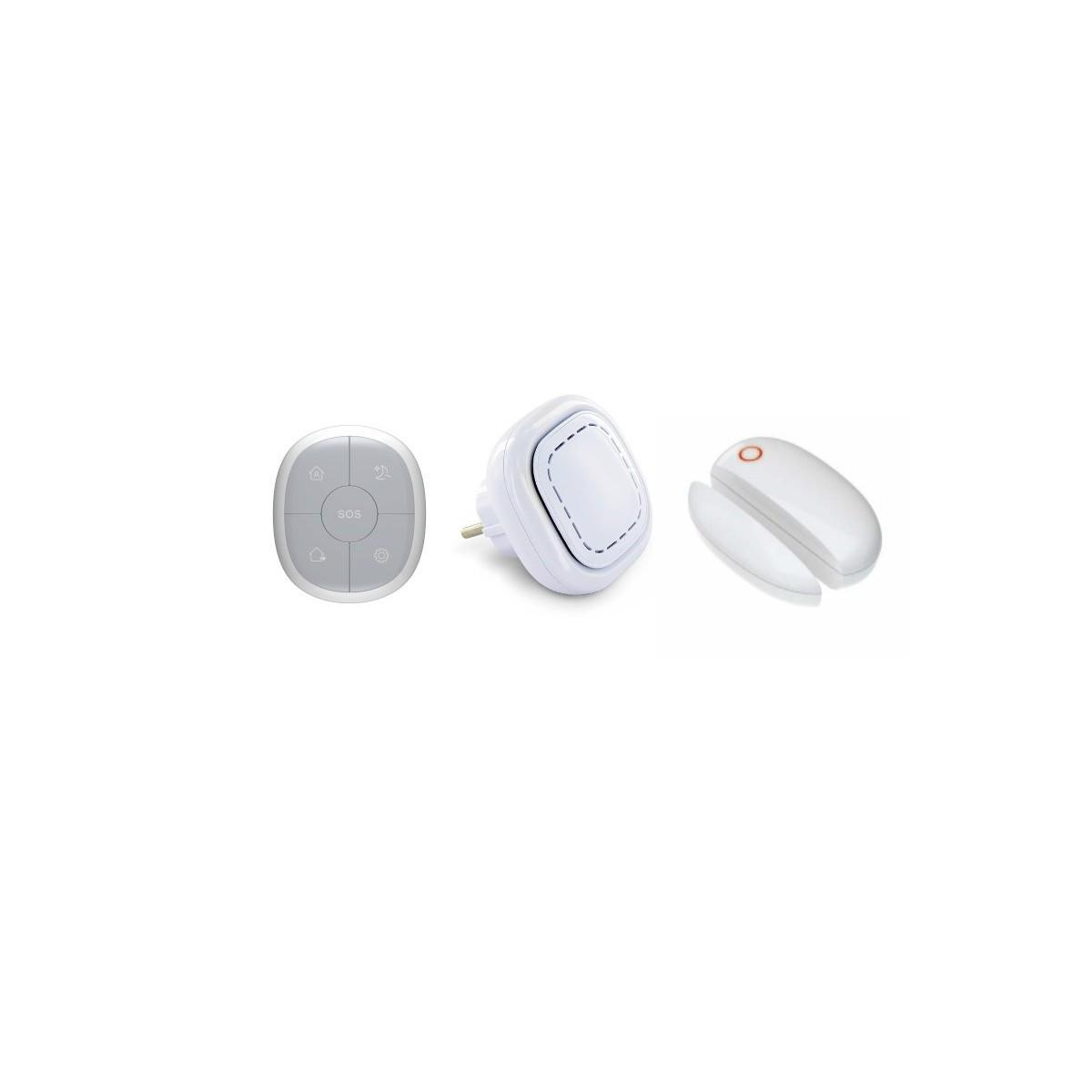 Maison sans fil connectã© 3 en 1 -  dã©tection d' ouverture lifebox smart