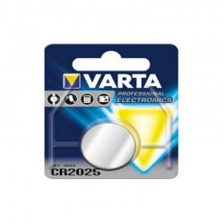 Pile varta cr 2025 3v lithium (lot de 2)