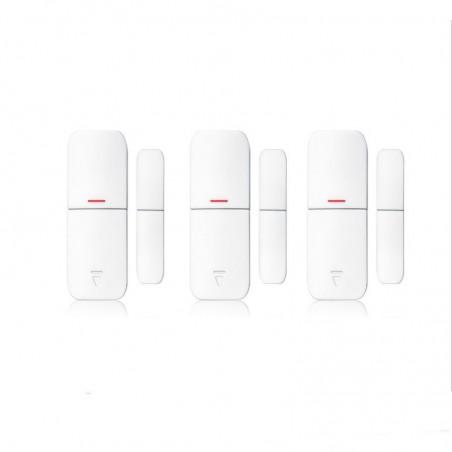 3 dã©tecteurs d'ouverture sans fil pour porte et fenãªtre