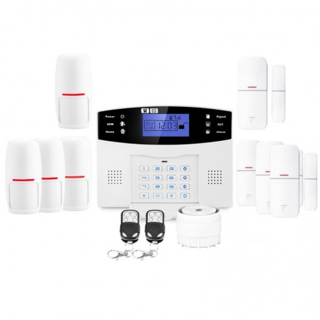 Alarme maison sans fil gsm lifebox evolution kit-4