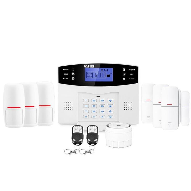 Alarme appartement sans fil gsm lifebox evolution kit-3