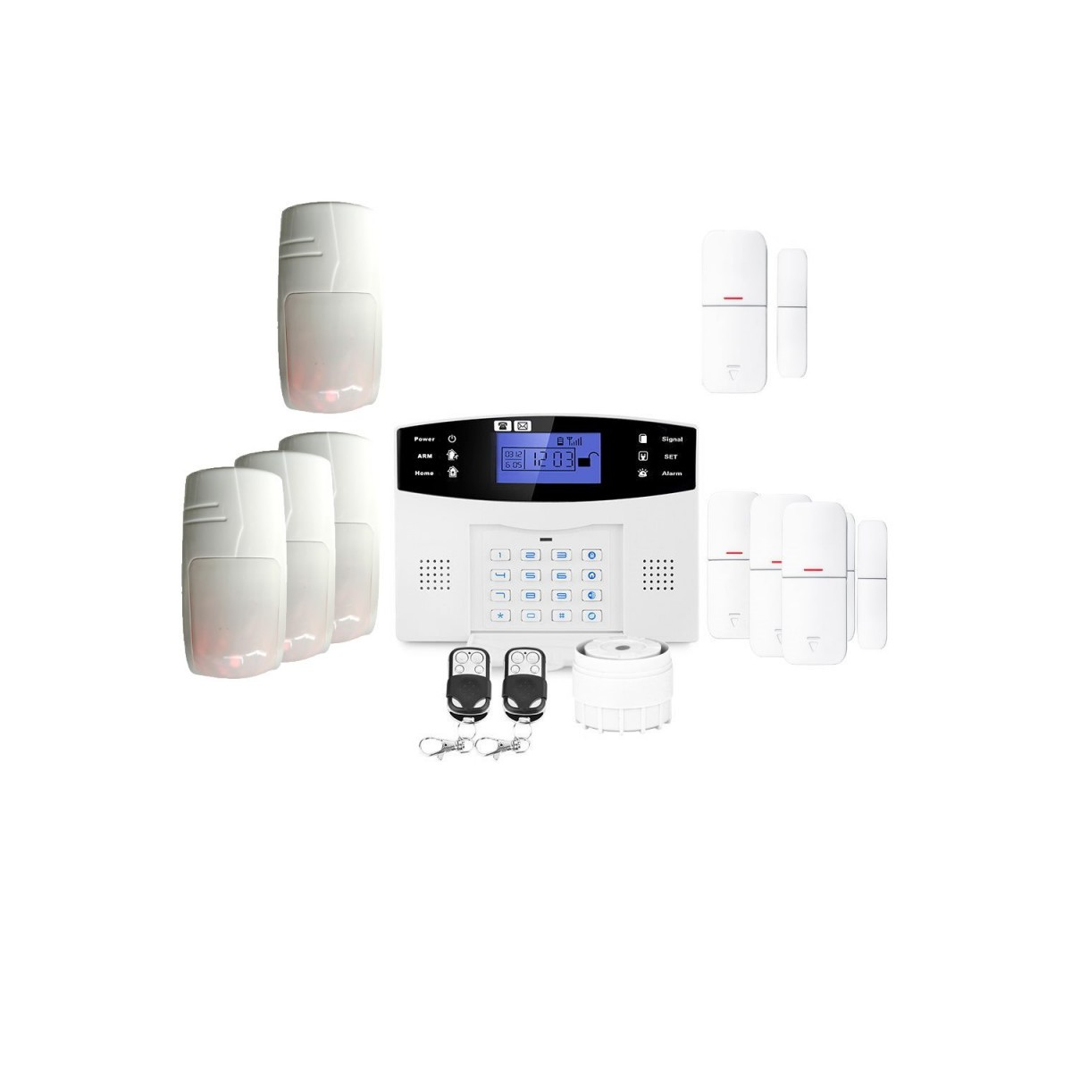 Alarme grande maison sans fil gsm lifebox evolution animal kit-8