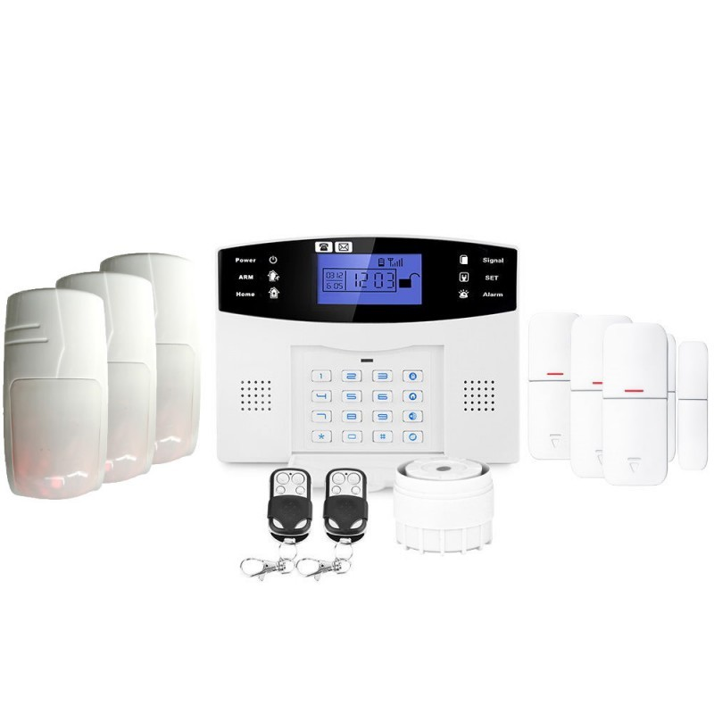 Alarme maison sans fil gsm lifebox evolution animal kit-9