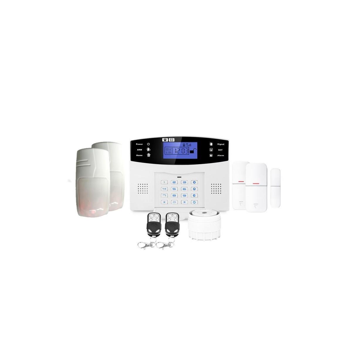 Alarme maison ou appartement sans fil gsm lifebox evolution animal kit-10