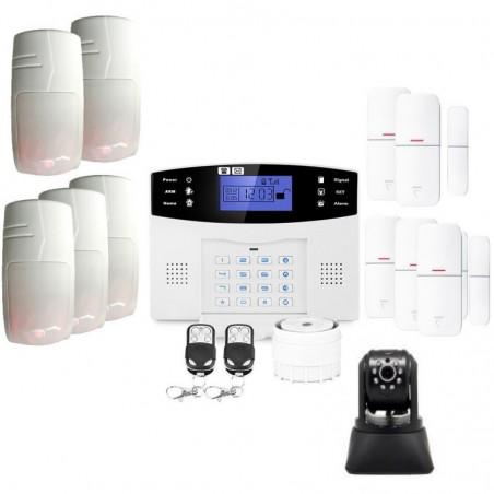 Alarme compatible animal avec camã©ra ip lifebox evolution kit ip2