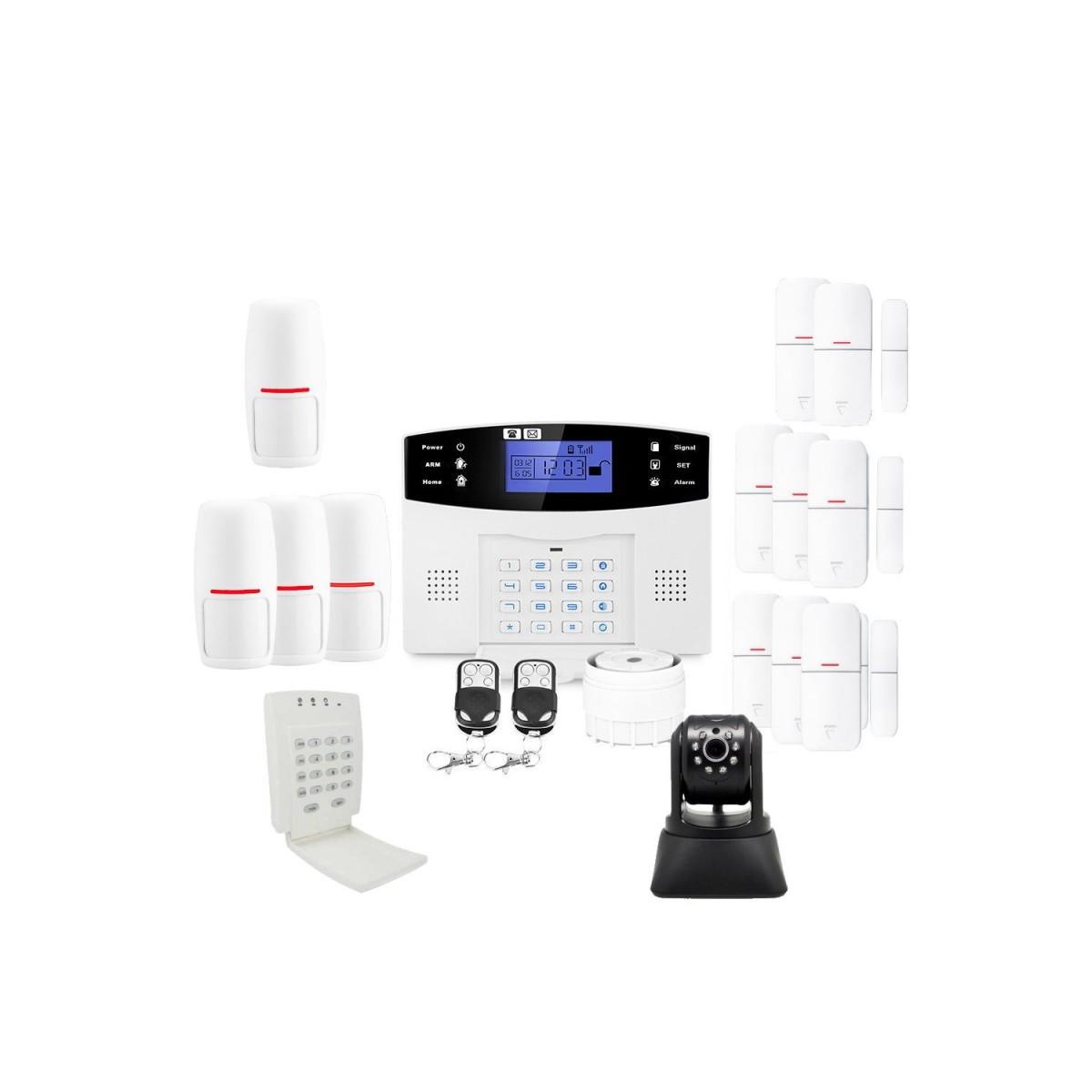 Alarme maison avec camã©ra ip lifebox evolution kit ip5