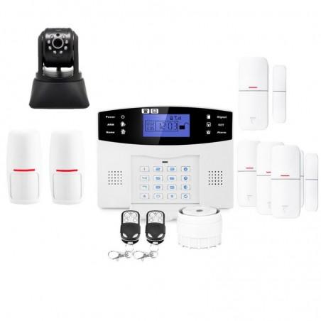 Alarme maison avec camã©ra ip lifebox evolution kit ip4