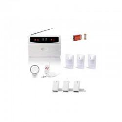 Kit alarme sans fil 32 zones large box