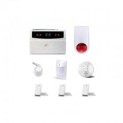 Alarme complète sans fil pour appartement kit serenity-apptpremium