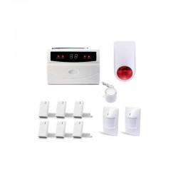 Alarme maison sans fil avec sirènes kit serenity-32