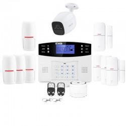 Alarme maison sans fil gsm lifebox et caméra sans fil evolution kit connecté 4