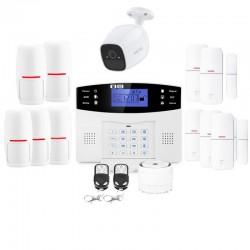 Alarme maison connectée sans fil gsm lifebox evolution kit connecté 5
