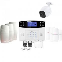 Alarme maison connectée sans fil gsm avec caméra lifebox evolution animal kit connecté 9