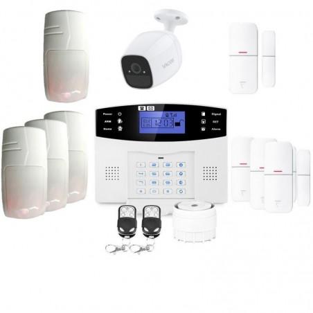 Alarme grande maison sans fil gsm avec caméra lifebox evolution animal kit connecté 8