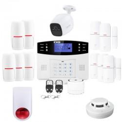 Alarme maison connectée lifebox evolution secure kit connecté 11