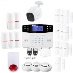 Alarme maison connectée lifebox evolution ultra secure kit connecté 12