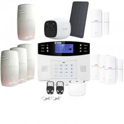 Alarme grande maison sans fil gsm avec caméra autonome lifebox evolution animal kit connecté 15