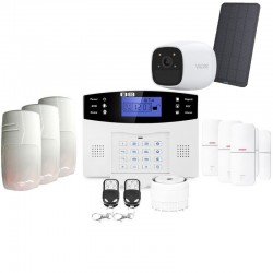 Alarme maison connectée sans fil gsm avec caméra autonome lifebox evolution animal kit connecté 9
