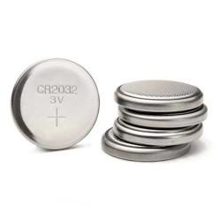 5 piles cr2032 3v