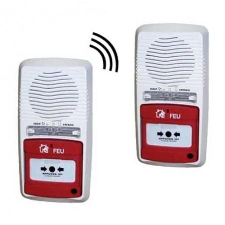 2 x alarmes type 4 radio à pile