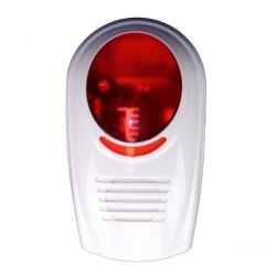 Sirene alarme exterieure  gx avec flash