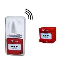 Alarme type 4 radio avec 1 déclencheur