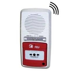 Alarme type 4 radio avec 3 déclencheurs