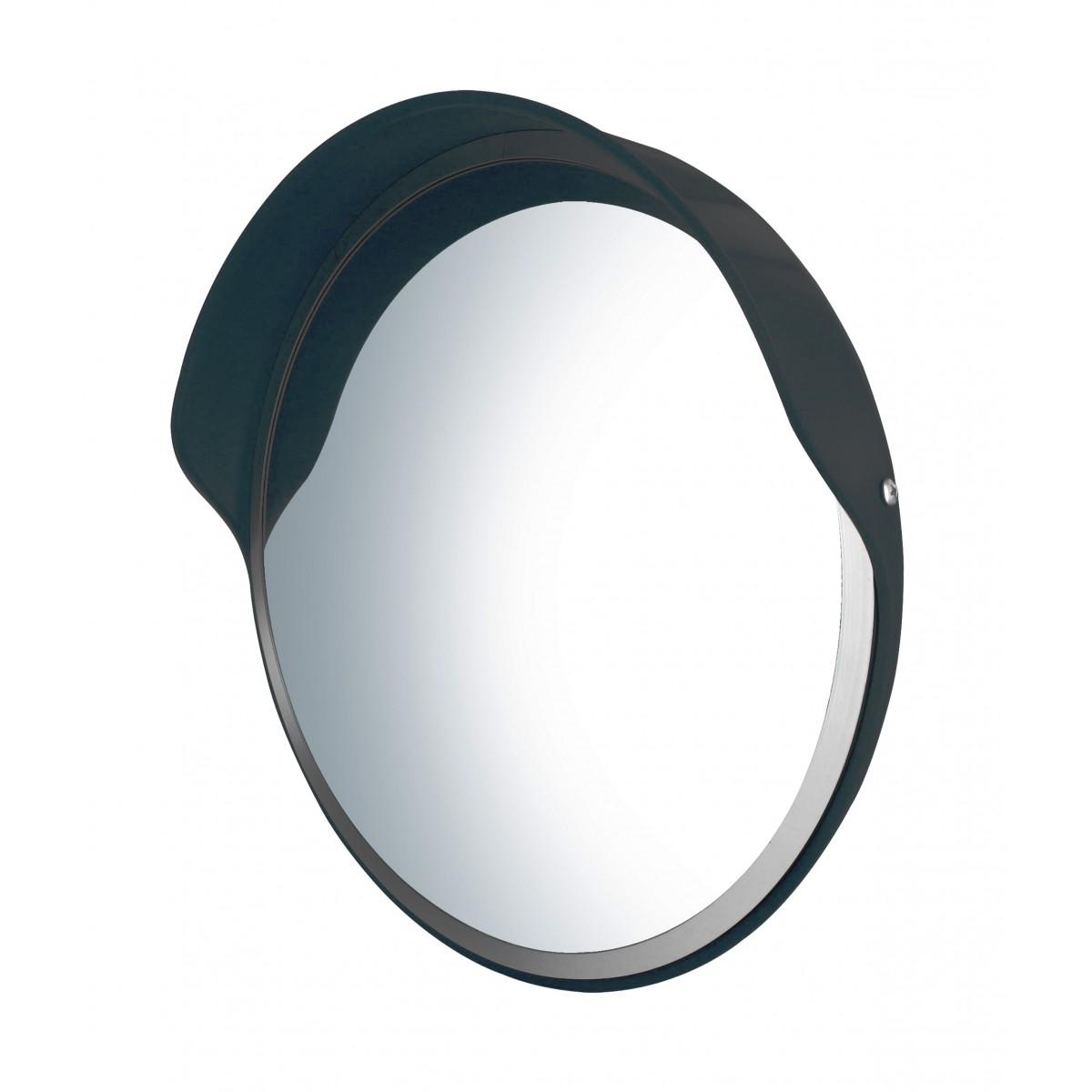 Miroir convexe multi usages 45cm avec casquette