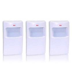 Pack de 3 détecteurs infrarouge sans fil gx
