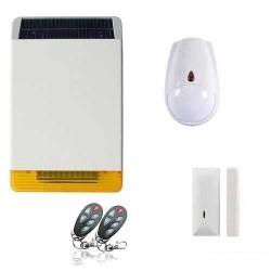 Kit alarme sirène solaire revolution