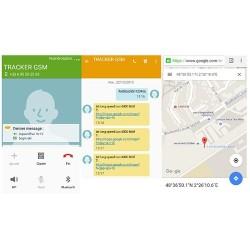 Tracker traceur gps gsm étanche pour moto