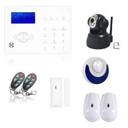 Alarme appartement sans fil revolution et caméra ip