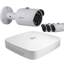 Kit vidéo surveillance hd cvi 4 caméras 720p