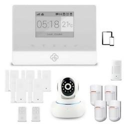 Kit alarme maison sans fil appure et caméra ip
