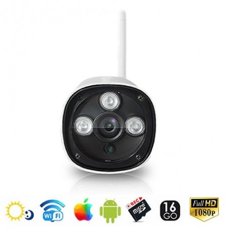 Camera ip wifi haute définition 16go