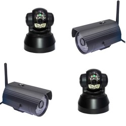 Surveillance maison caméra wifi intérieure extérieure