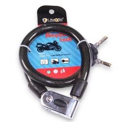 Antivol câble acier 80 cm multi usage