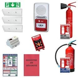 Pack sécurité incendie erp - restauration commerce