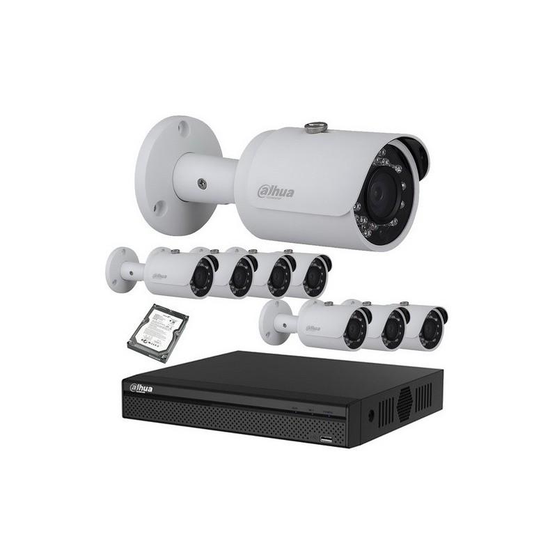 Kit vidéo surveillance hd cvi caméra 1080p