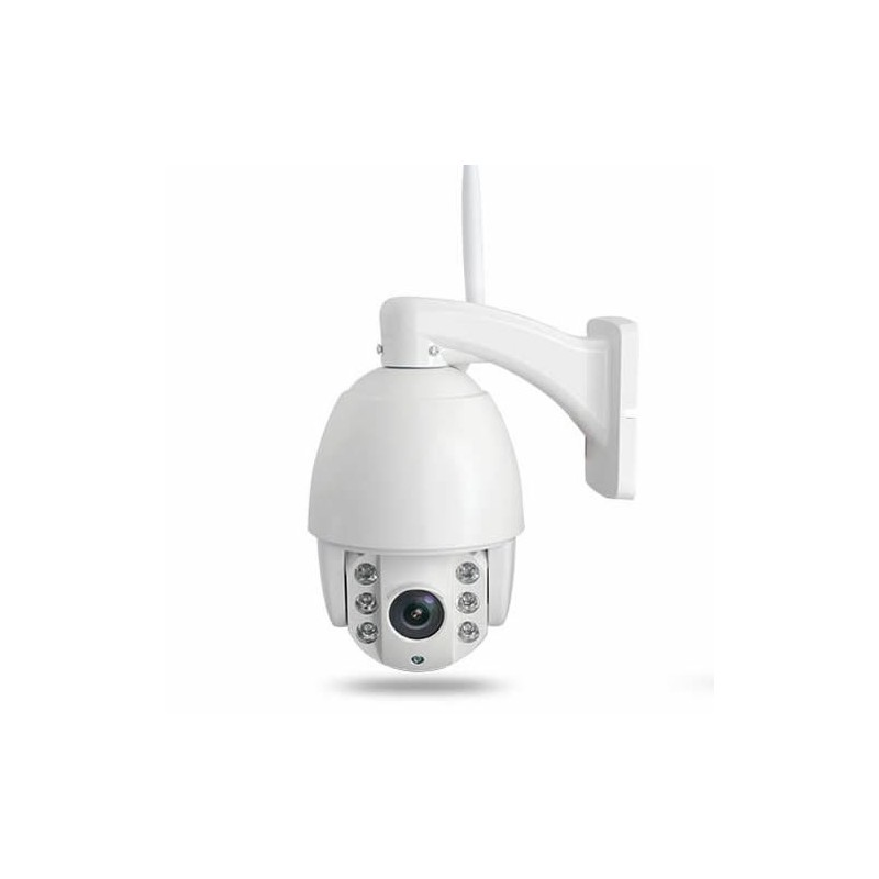 Caméra de surveillance motorisée ip wifi 2mp extérieure 16go