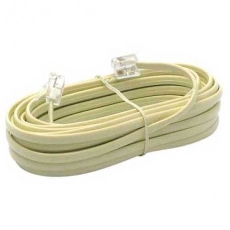 Cable telephone rj11 5 metres