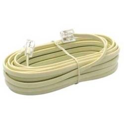 Câble telephone rj11 20 mètres