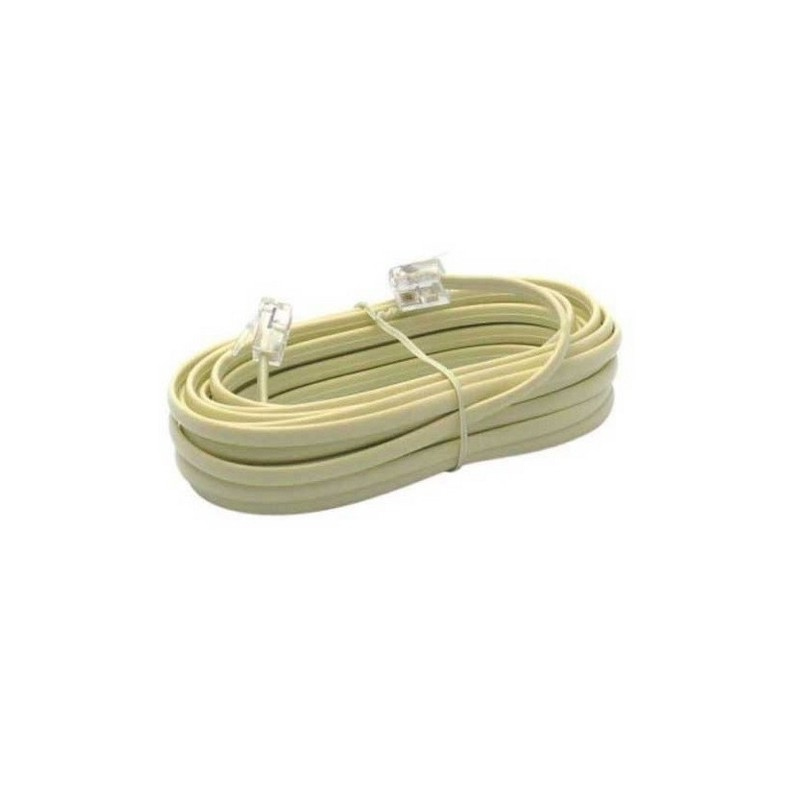 Cable telephone rj11 10 metres