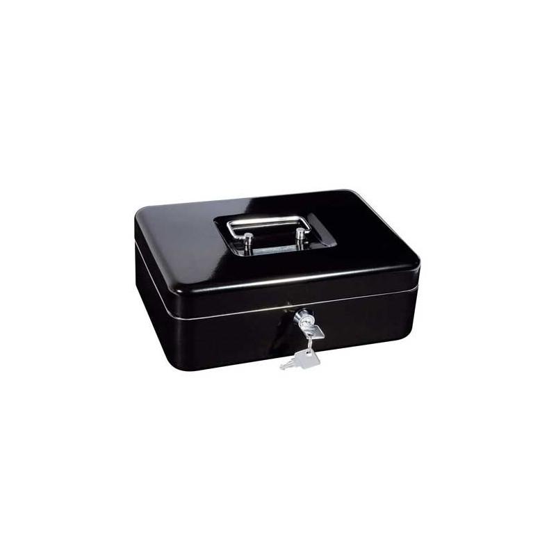 Caisse a monnaie, monnayeur en acier noir 30 cm